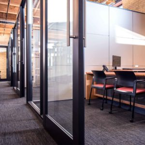 Offices at Enclave built by Smartt Interior Construction