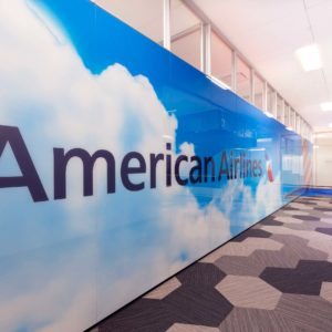 American Airlines Integration Center smartt interior construction