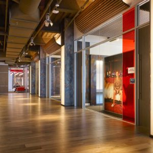 netflix corporate headquarters built by smartt interior construction