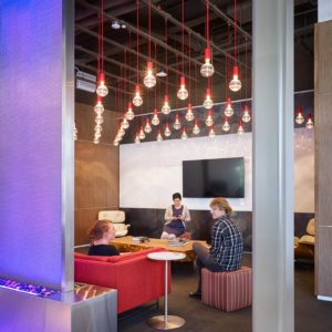 Netflix Headquarters built by smartt interior construction