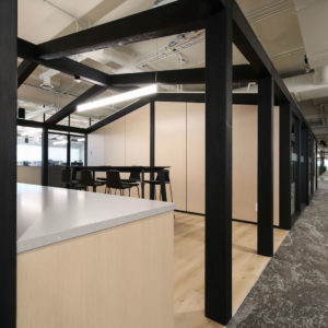 Smartt Interior Construction office redesign
