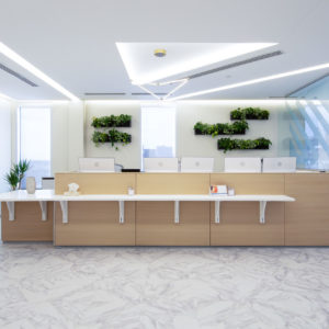 Clean White Office Space Smartt Interior Construction