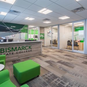 Bismarck State College administration offices